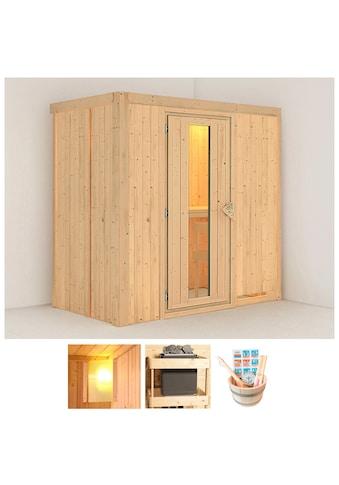 KONIFERA Sauna »Willa«, 196x118x198 cm, ohne Ofen, Energiespartür kaufen