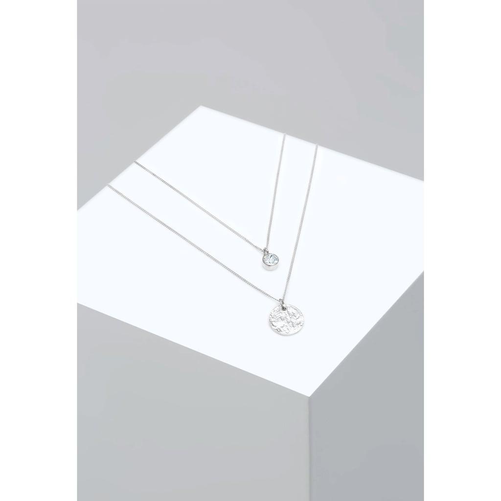 Elli Gliederkette »Zarte Basic Layer Halskette, 925 Sterling Silber«