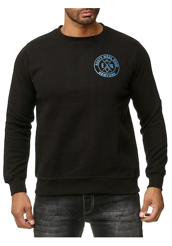 Rusty Neal Pullover mit Marken-Motiv auf Rücken und Front kaufen