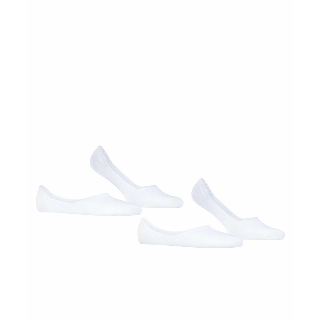 Esprit Füßlinge »Basic Uni 2-Pack«, (2 Paar), aus hautschmeichelnder Baumwolle