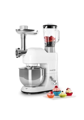 Klarstein Küchenmaschine Rührmaschine Fleischwolf Mixer 1200W 1,6 PS 5L kaufen