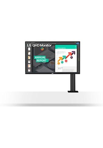 "LG LED-Monitor »27QN880«, 68,47 cm/27 "", 2560 x 1440 px, QHD, 5 ms Reaktionszeit, 75 Hz kaufen"