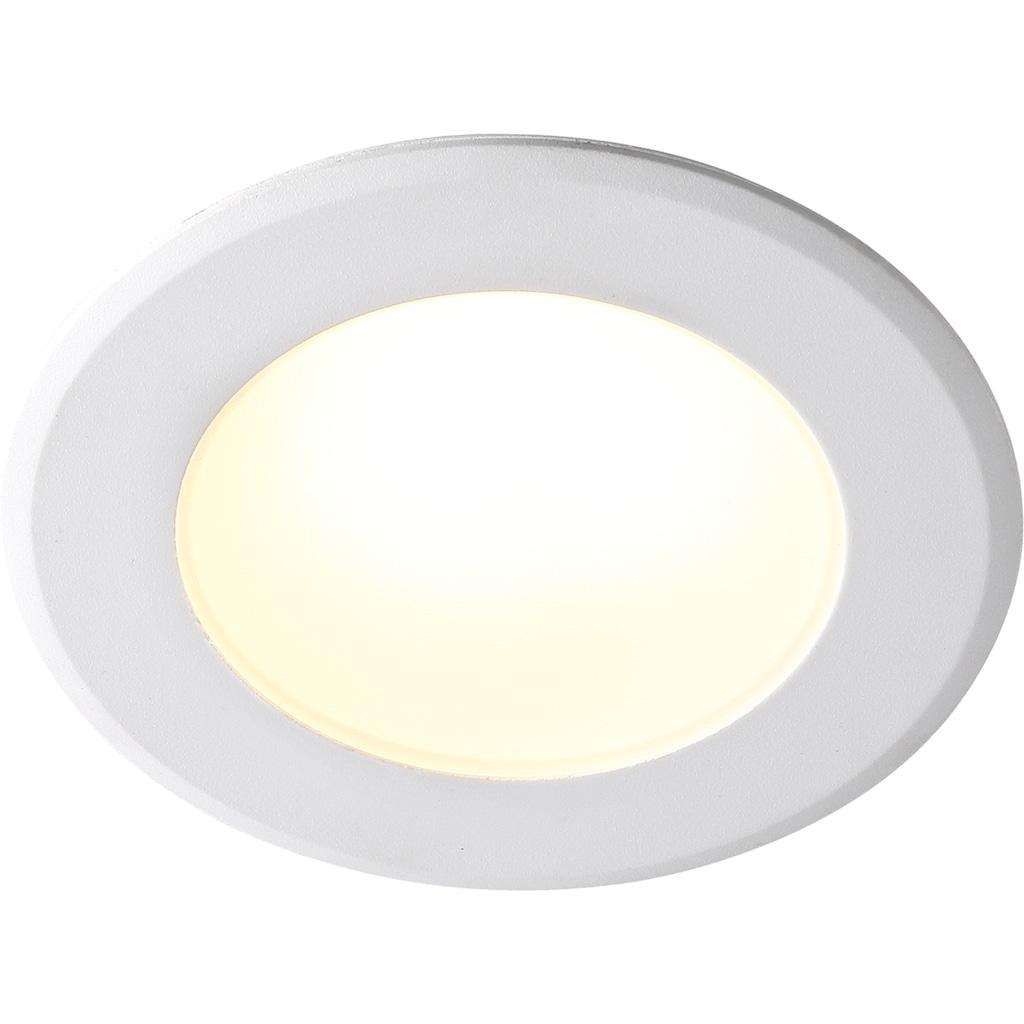 Nordlux LED Einbaustrahler »2er Set Birla«, LED-Board, Warmweiß, IP44, für Badezimmer geeignet