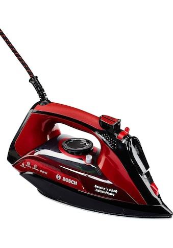 BOSCH Dampfbügeleisen TDA503001P Edition Rosso, 3000 Watt kaufen