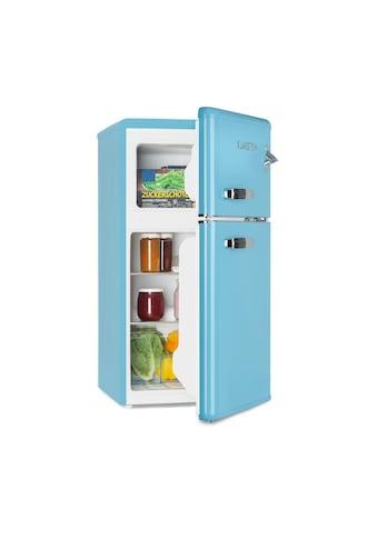 Klarstein Kühl -  & Gefrierkombination 61 - l - Kühlfach 24 - l - Gefrierfach blau »Irene« kaufen