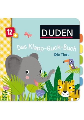 Buch »Duden 12+: Das Klapp-Guck-Buch: Die Tiere / Susanne Weber, Tina Schulte« kaufen