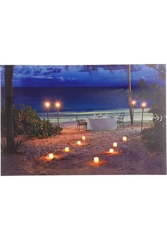 Home affaire LED - Bild »Strand« kaufen