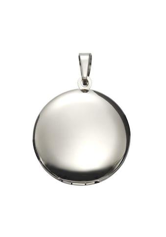 Vivance Medallionanhänger »Edelstahl«, Medaillon kaufen