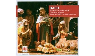 Musik - CD Weihnachtsoratorium BWV 248 - Arien Und Chöre / Thomas/GOL/Thomanerchor/+, (1 CD) kaufen