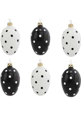 Thüringer Glasdesign Osterei »Funny Dots« (Set, 6 Stück) kaufen