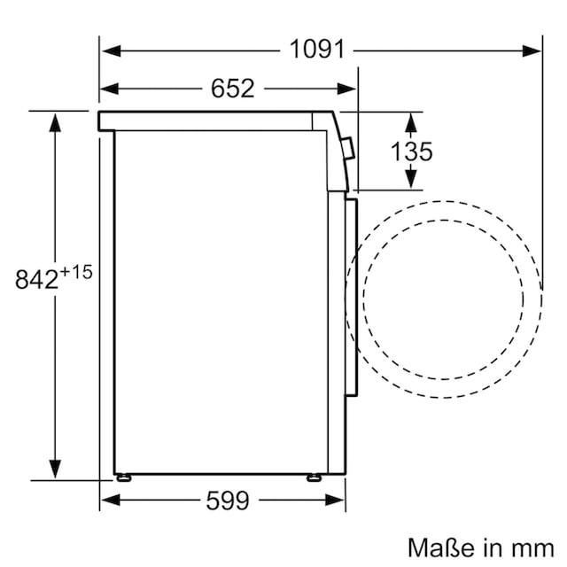 SIEMENS Kondenstrockner iQ500 WT46G402, 9 kg