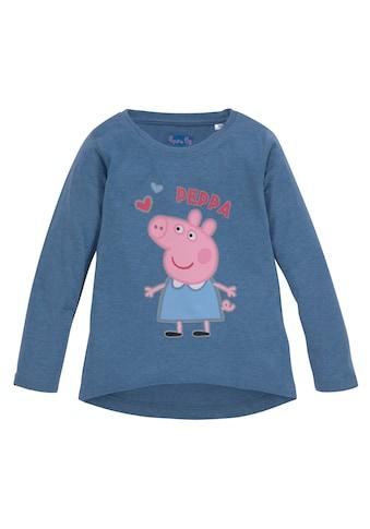 Peppa Pig Langarmshirt »PEPPA PIG« kaufen