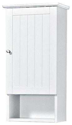 Hängeschrank fürs Bad in Weiß