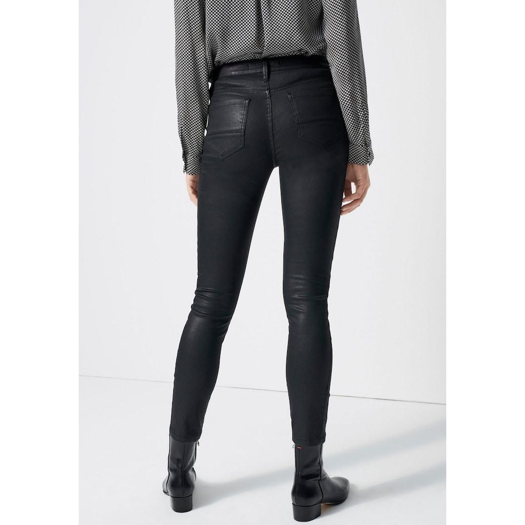 someday Skinny-fit-Jeans »Cadou coated«, mit leichtem Glanz
