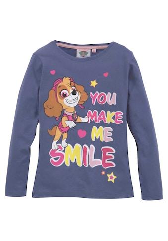 PAW PATROL Langarmshirt »YOU MAKE ME SMILE« kaufen