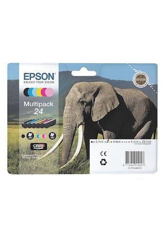 Epson Tintenpatronen-Set Nr. 24 kaufen