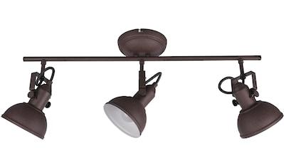 TRIO Leuchten Deckenleuchte »GINA«, E14, in rostfarbiger Gestaltung kaufen