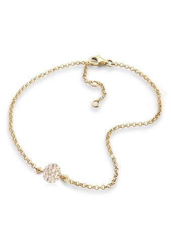 Elli Fußkette »Kugel Kristalle 925 Sterling Silber« kaufen