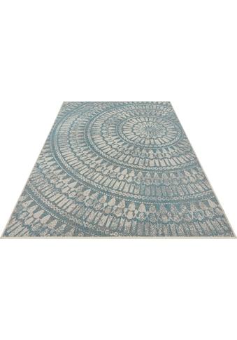 bougari Teppich »Arnon«, rechteckig, 4 mm Höhe, In- und Outdoor geeignet, Flachgewebe,... kaufen