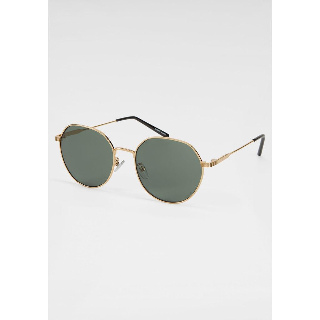 J.Jayz Sonnenbrille, leicht eckiger Vollrand