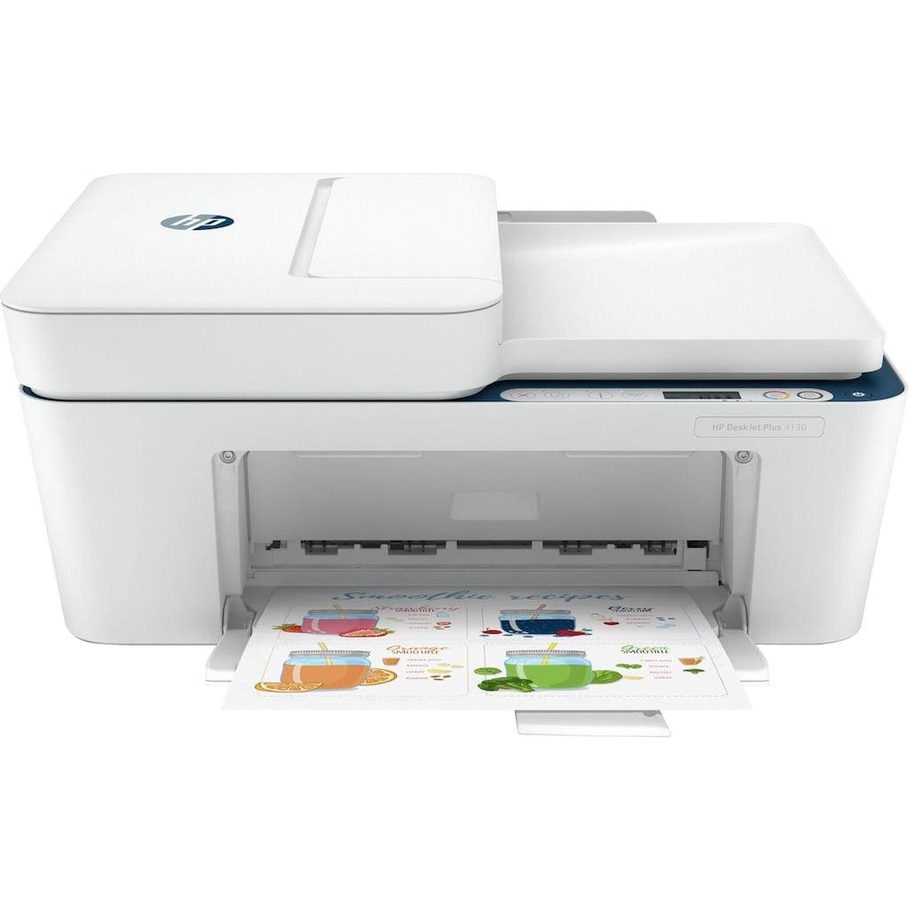 HP Multifunktionsdrucker »DeskJet Plus 4130 Wireless All-in-One Colour«