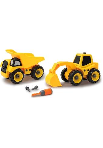 Jamara Spielzeug-Traktor »Baufahrzeuge 9 in 1« kaufen