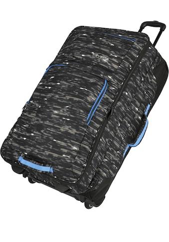 """travelite Weichgepäck - Trolley """"Basics, 78 cm, schwarz/blau"""" kaufen"""