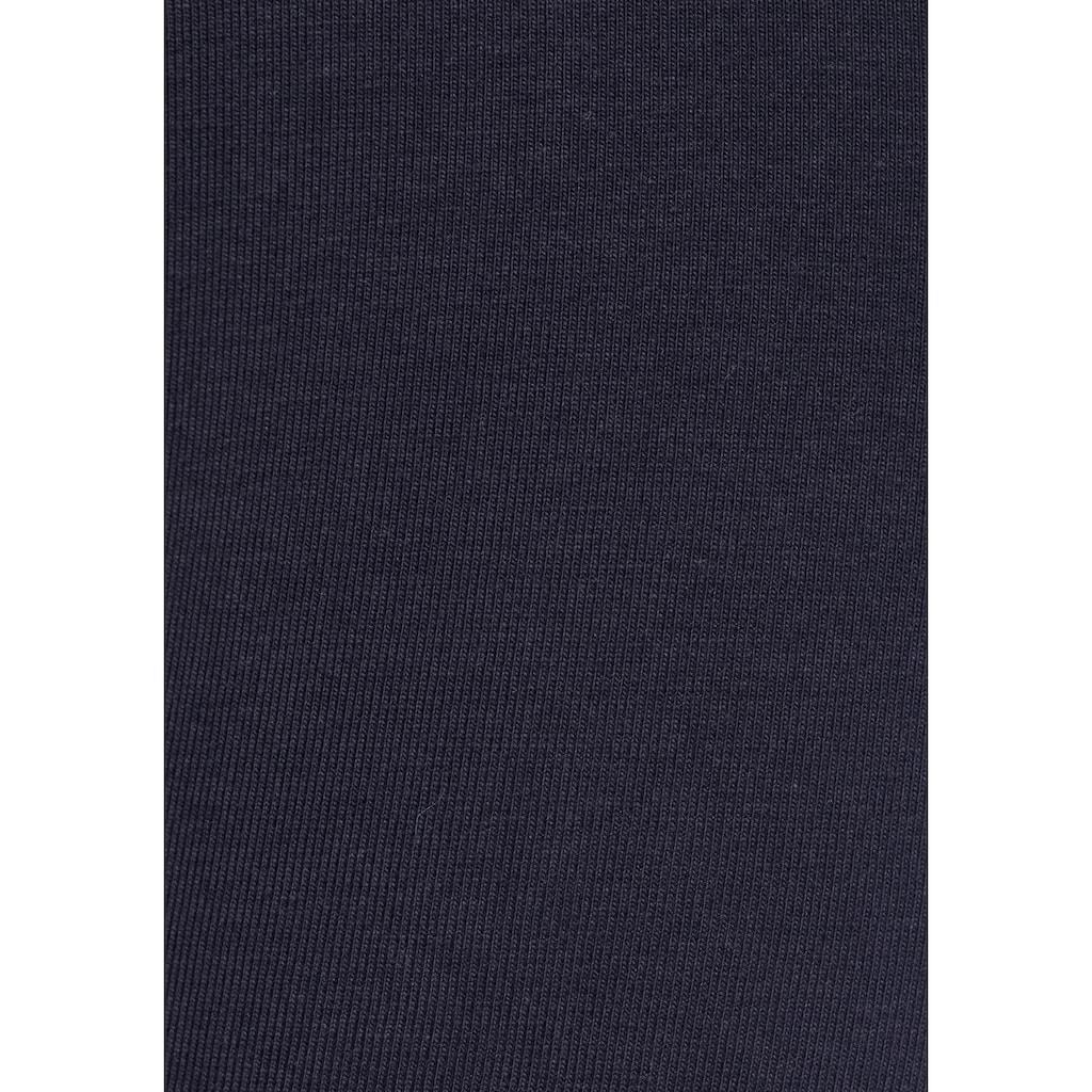Bench. Leggings, mit Logoprint am Bündchen