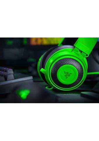 RAZER Over-Ear-Kopfhörer »Kraken - Green - FRML Packaging«, Mikrofon abnehmbar kaufen