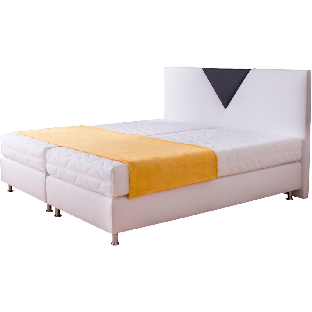 Westfalia Schlafkomfort Boxspringbett, in 2 Bezugsqualitäten