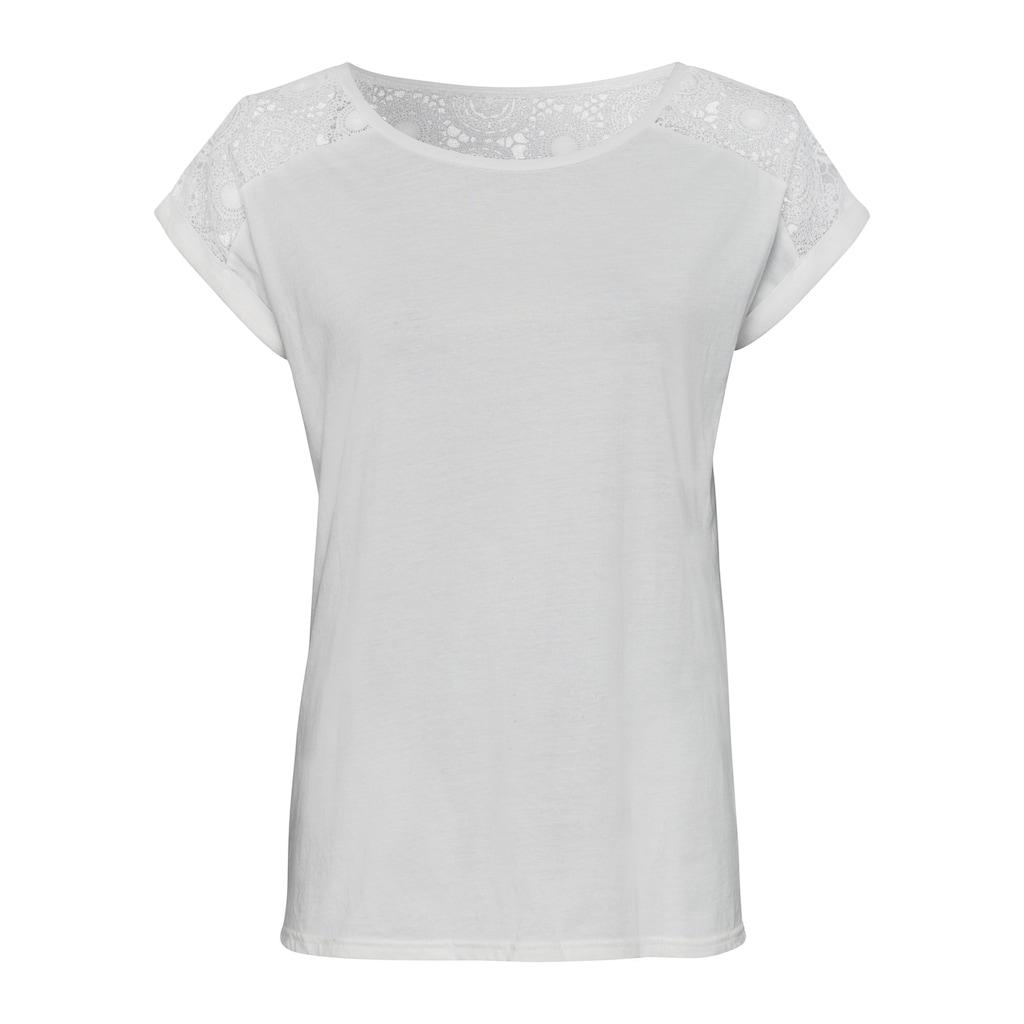 Vivance T-Shirt, mit schöner Spitze