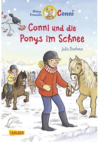 Buch Conni - Erzählbände 34: Conni und die Ponys im Schnee / Julia Boehme; Herdis Albrecht kaufen
