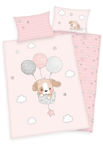 Baby Best Babybettwäsche »Sweet Puppy«, mit niedlichem Hunde-Motiv kaufen