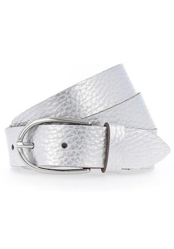 Vanzetti Ledergürtel, Teilweise in Metallic-Optik kaufen