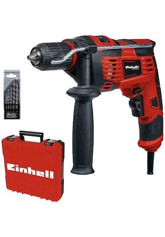 Einhell Schlagbohrmaschine »TC-ID 720/1 E Kit«, (Set, 3 tlg.) kaufen