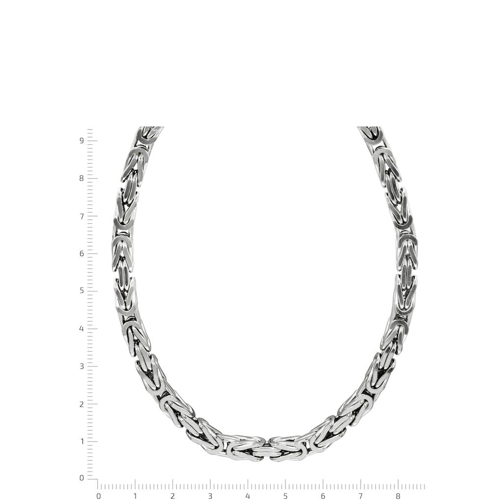 Firetti Königskette »Königskettengliederung 4-kant, 6,0 mm breit«, Made in Germany