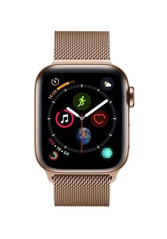 Series 4 GPS + Cellular, Edelstahlgehäuse mit Milanaise Armband 40 mm Watch, Apple kaufen