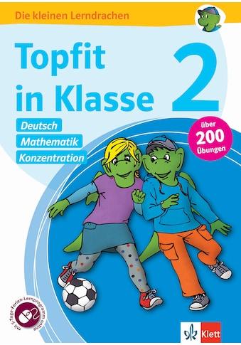 Buch »Klett Topfit in Klasse 2 - Deutsch, Mathematik und Konzentration / DIVERSE« kaufen