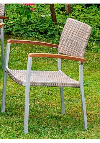 MERXX Gartensessel »Silano«, Aluminium/Kunststoff kaufen