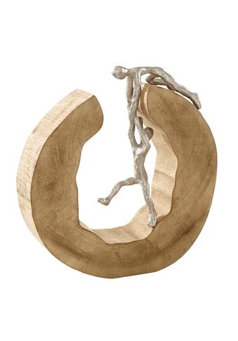 Deko-Objekt mit Aluminium-Figuren kaufen