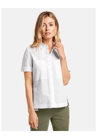 GERRY WEBER Bluse 1/2 Arm »Lockere 1/2 Arm Bluse aus Baumwolle« kaufen