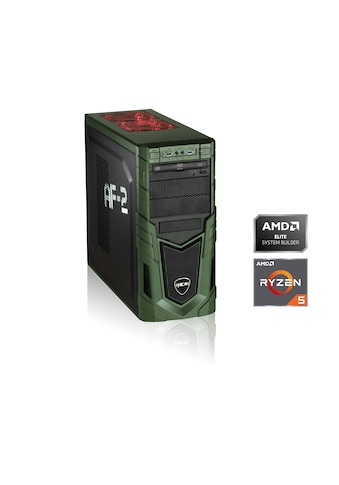 Hyrican Gaming PC Ryzen 5 2600, 16GB, 1TB SSD, RX 580 oBS »Gaming PC 6342« kaufen
