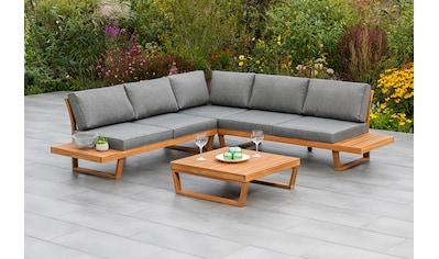 MERXX Gartenmöbelset »Valparaiso«, (2 tlg.), Eck-Sitz-Set kaufen