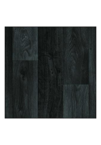 Andiamo Vinylboden »PVC Auslegeware Schwarz«, in verschiedenen Breiten Meterware kaufen