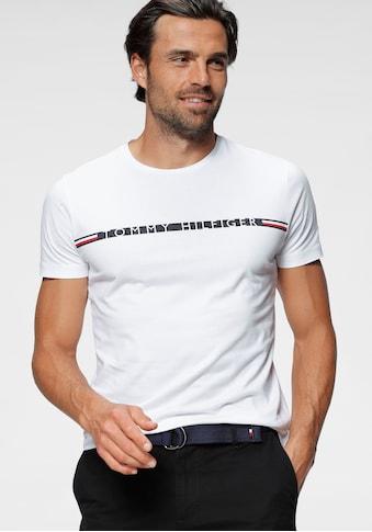 TOMMY HILFIGER T - Shirt »MINI STRIPE TEE« kaufen