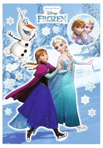 KOMAR Packung: Wandtattoo »Anna und Elsa«, 15 - teilig kaufen