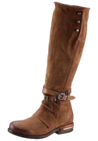 A.S.98 Stiefel »TEAL«, mit Zierschnalle und Bänder kaufen