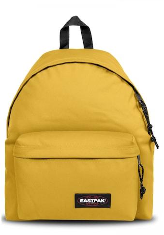 Eastpak Freizeitrucksack »PADDED PAK'R sunny yellow« kaufen