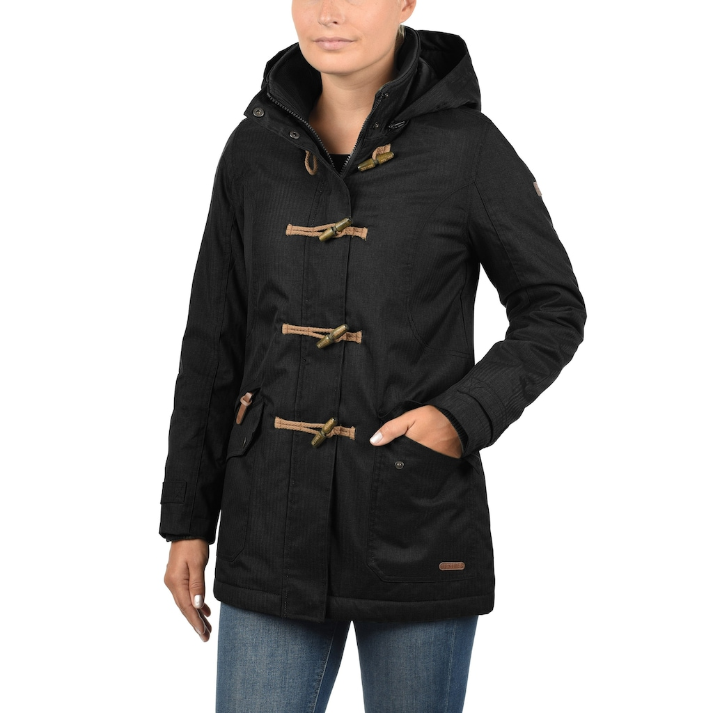 DESIRES Parka »Brooke«, warme Jacke mit abnehmbarer Kapuze