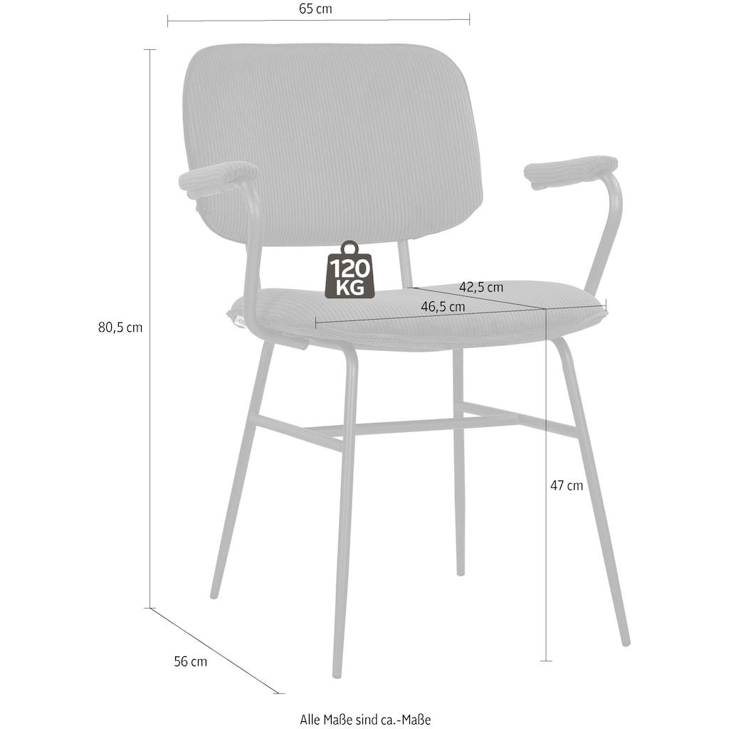 COUCH♥ Esszimmerstuhl »Besitz mich«, 2er-Set in 4 Farben und 2 Bezugsqualitäten